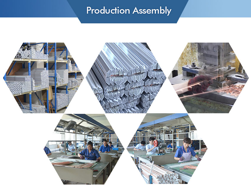 Mcb breaker busbar production assembly